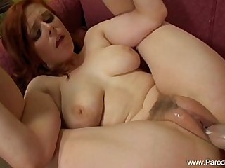 Sexy Redhead Mother Fucked At Home