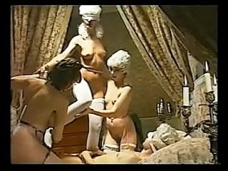 retro group girl  renaissance sex classic