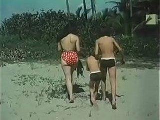 vintage del cine mexicano  - La Playa prohibida con Sasha Montenegro clasicos