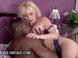 Greta Carlson oldschool interracial sex
