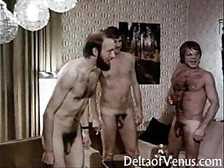 Vintage Euro Porn 1970s  Interracial