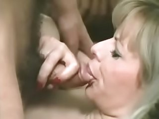 Man cums in woman'_s mouth