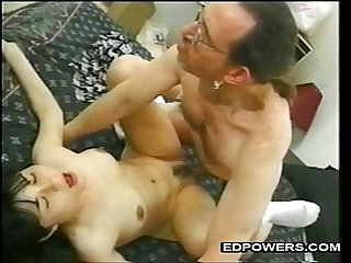 Ed Powers Fucked Asian Dazzling Pussy