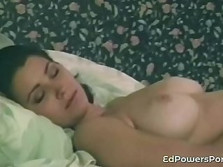Busty retro porn amateur gets anally banged