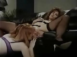 Lesbian Retro Office Licking Part 2 on swapsnap.net