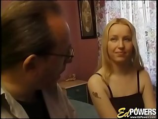 EDPOWERS  Cocksucker Donna anally penetrated and facial