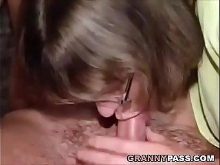 German Granny Fucking
